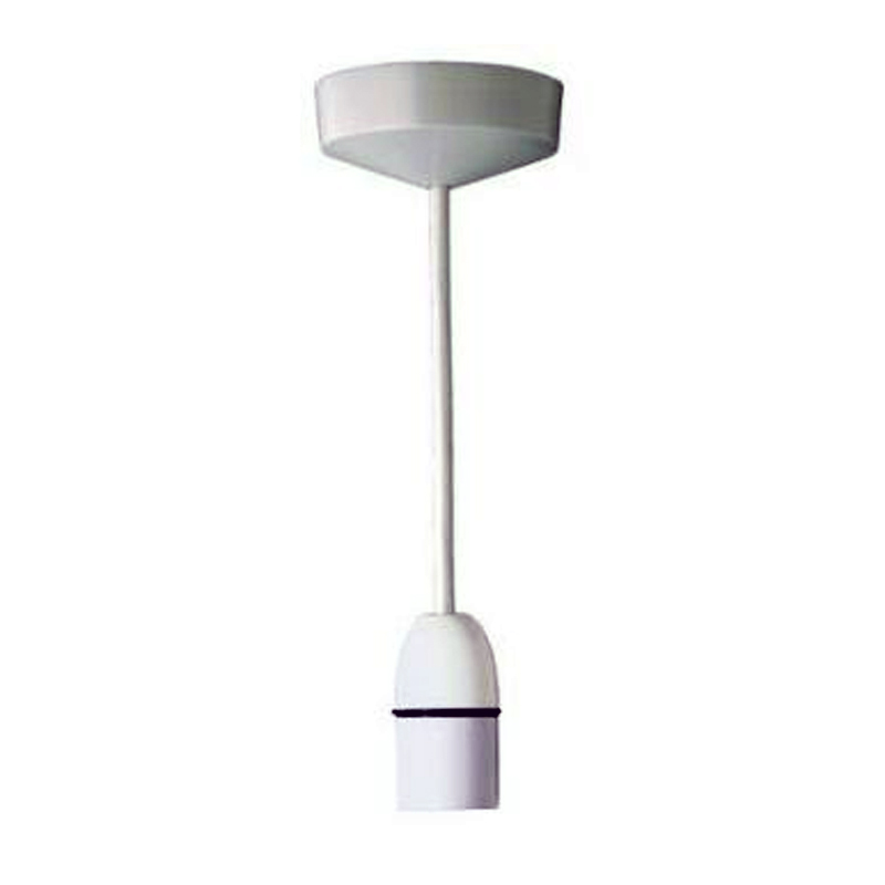 6 Inch White Hanging Ceiling Lamp Heat, How To Fit A Ceiling Light Fitting
